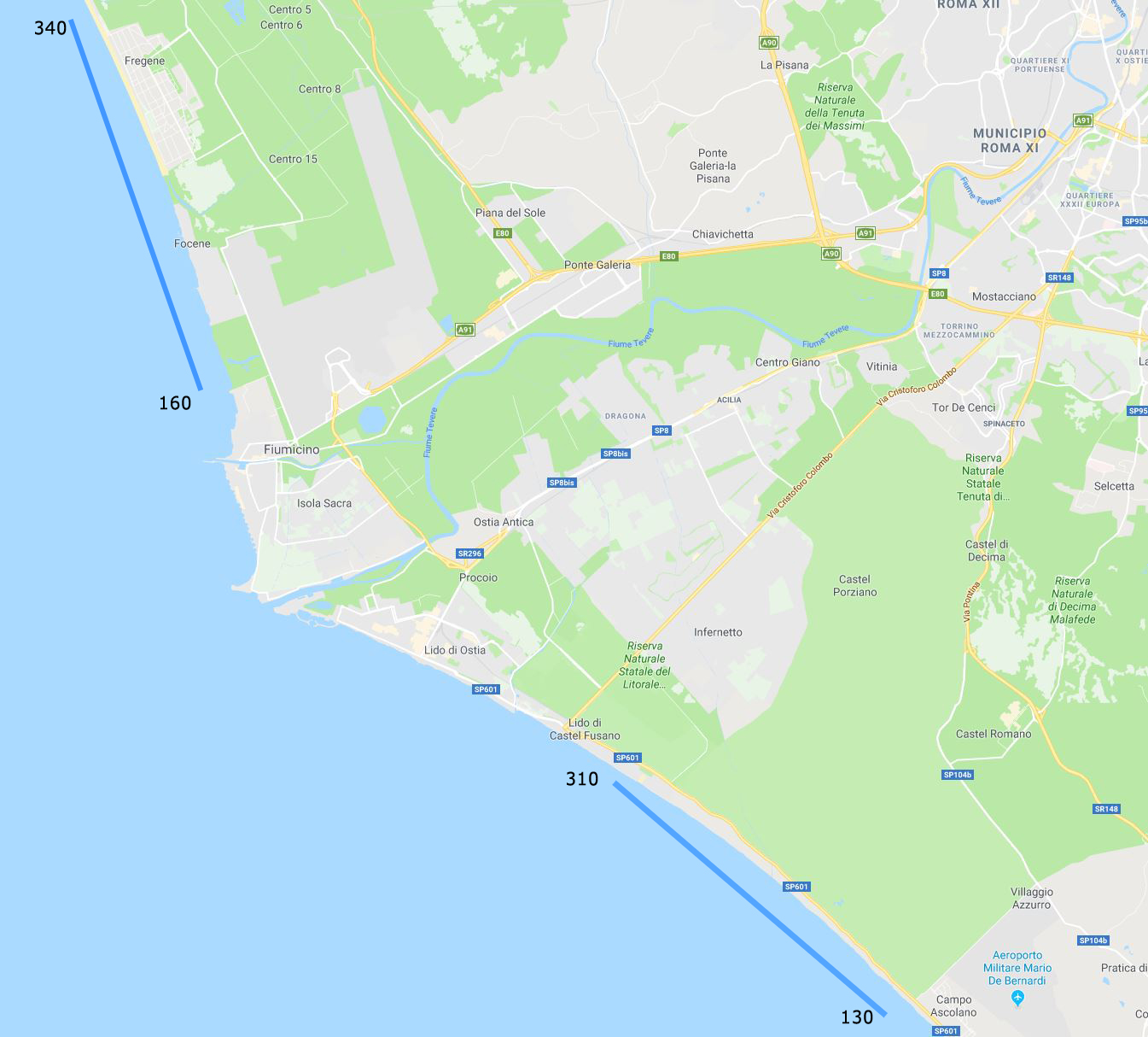 Ostia-Fiumicino